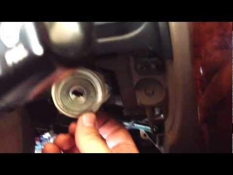 How to remove 96-01' Toyota 4Runner Ignition Lock Cylinder