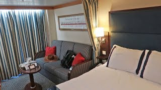 Disney Cruise Week! | Embarkation Day, Deluxe State Room Tour & Rapunzel's Royal Table Dinner!