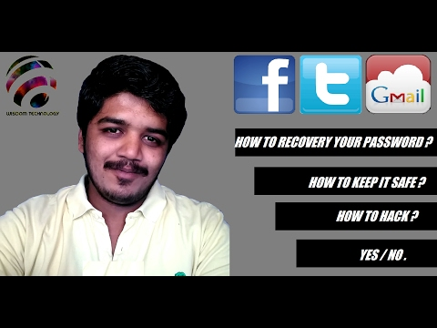 HOW TO RECOVERY YOUR LOST PASSWORD ? -TAMIL | தமிழ்