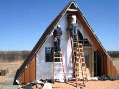 A-frame Cabin House