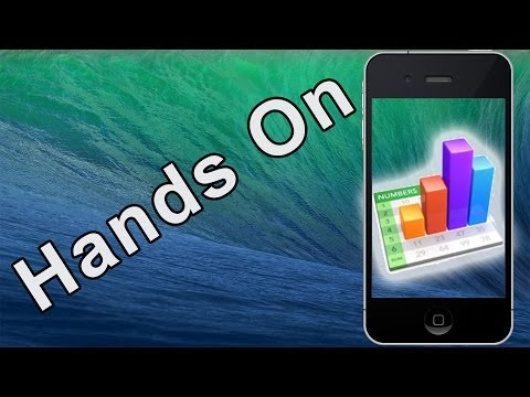 Hands On: Apple - iWork for iOS - Numbers (on iOS 7)