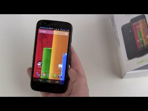 Motorola Moto G einrichten und kurzer Überblick