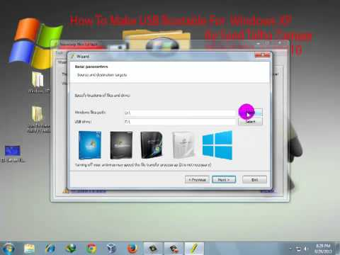 How To Make USB Bootable For XP In Urdu By Syed Talha Zameer