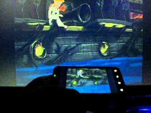 Full Throttle, Sam & Max, Monkey Island 3, ScummVM, HTC Evo 4G+ (Rider), HDMI mirroring output