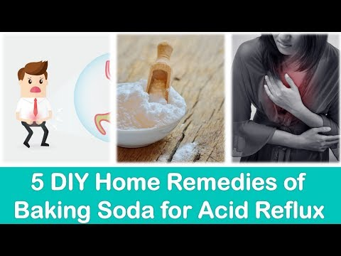 5 DIY Home Remedies of Baking Soda for Acid Reflux