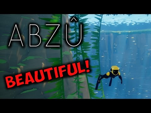 ABZÛ PS4 - THIS GAME LOOKS AMAZING! (PART 1)