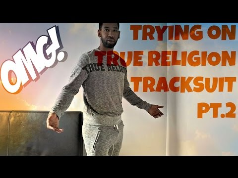 Trying on True Religion Tracksuit Pt.2 | Weekly  Buys | Zeeandco.co.uk