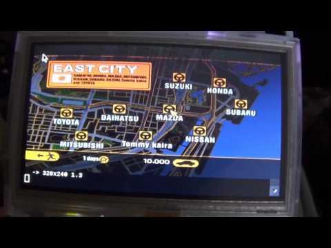 PocketCHIP Does PS1 Emulation! (PCSX Rearmed - Gran Turismo 2)
