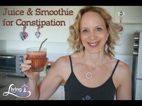Juice and Smoothie for Constipation
