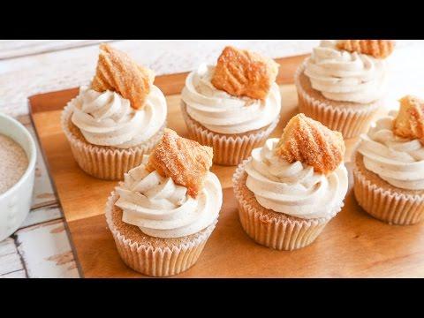Churro Inspired Cupcakes | Meagan Makes Cupcakes