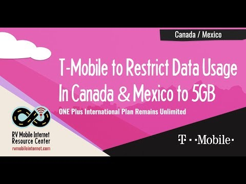 T-Mobile Implements 5GB Data Cap for Canada/Mexico Roaming on Mobile Without Borders