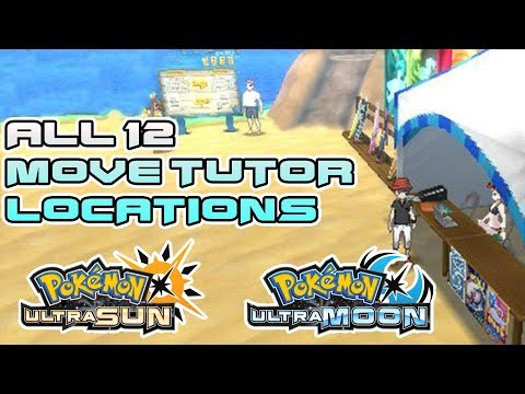 All 12 Move Tutor Locations in Pokemon Ultra Sun and Ultra Moon