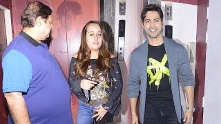 Varun Dhawan Takes Girlfriend Natasha Dalal To Watch Badrinath Ki Dulhaniya With His Family