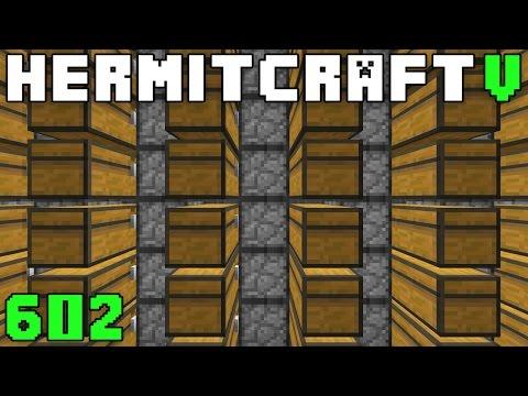Hermitcraft V 602 Storage Systems & Silverfish Stoppage