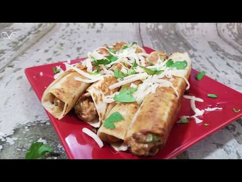 Jalapeno Popper Taquitos Recipe | Episode 576