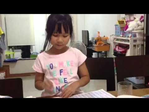 Year 2 homework : Jing jing make up a story video