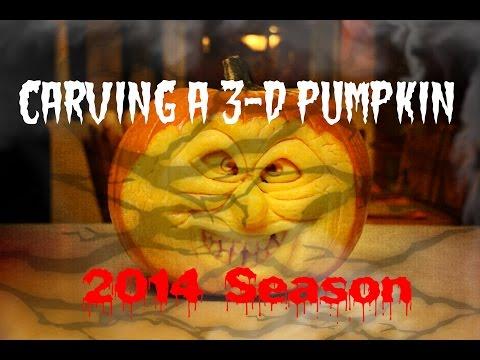 How To Carve A 3-D Pumpkin