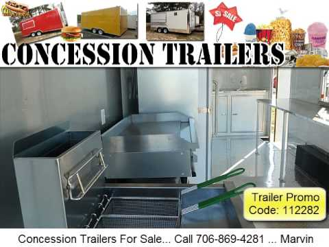 Mobile Catering Trailer For Sale 706-869-4281