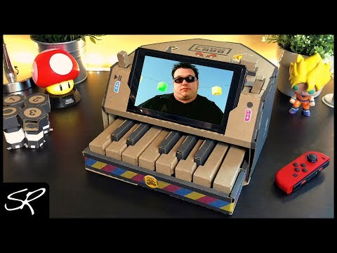 All Star But It's Played On The Nintendo Labo Piano (How to Play)