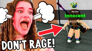 LAST TO RAGE QUIT Murder Mystery MM2 in Roblox Gaming w/ The Norris Nuts