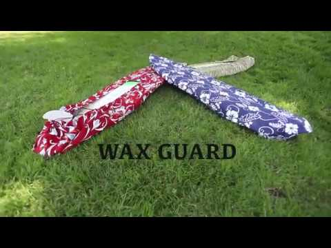 Hassle free surfboard covers Wax Guard Promo Video
