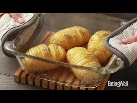 How to Make Hasselback Scalloped Potatoes | EatingWell