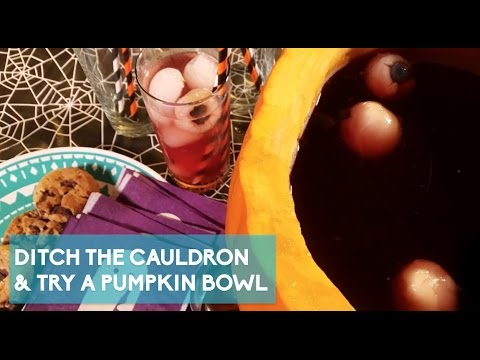 Pumpkin Punch Bowl is the New Party Must Have