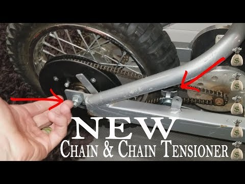 How To Install New Chain & Chain Tensioner For Razor MX500 MX650 Electric Dirt Bike!