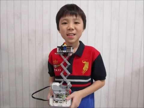 LEGO EV3 Scissor Lift