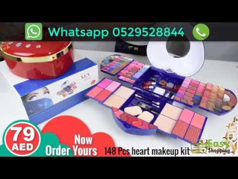 148 pcs heart makeup kit - A40X