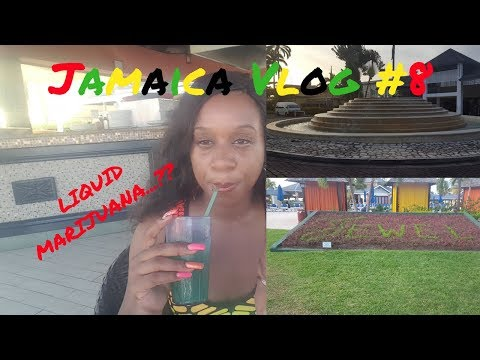 JAMAICA VLOG 2017 #8 LIQUID MARIJUANA WOW!! COME AGAIN | RESORT LIFE
