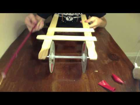 EASIEST mousetrap car tutorial (Part 4/4)