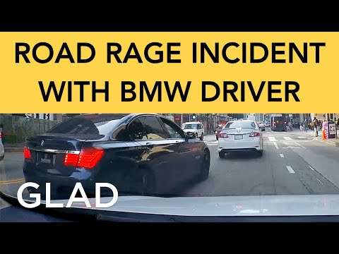 Road Rage Incident with BMW Driver