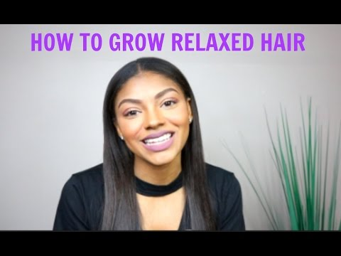 How To Grow Relaxed Hair