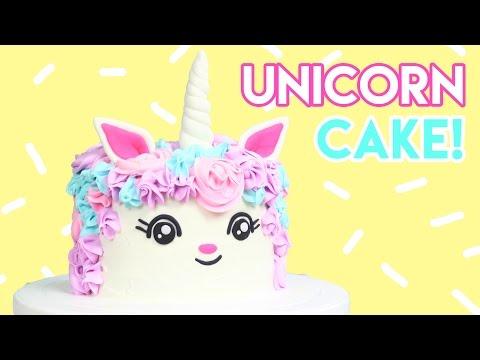 How to Make a UNICORN Cake! 💖🦄