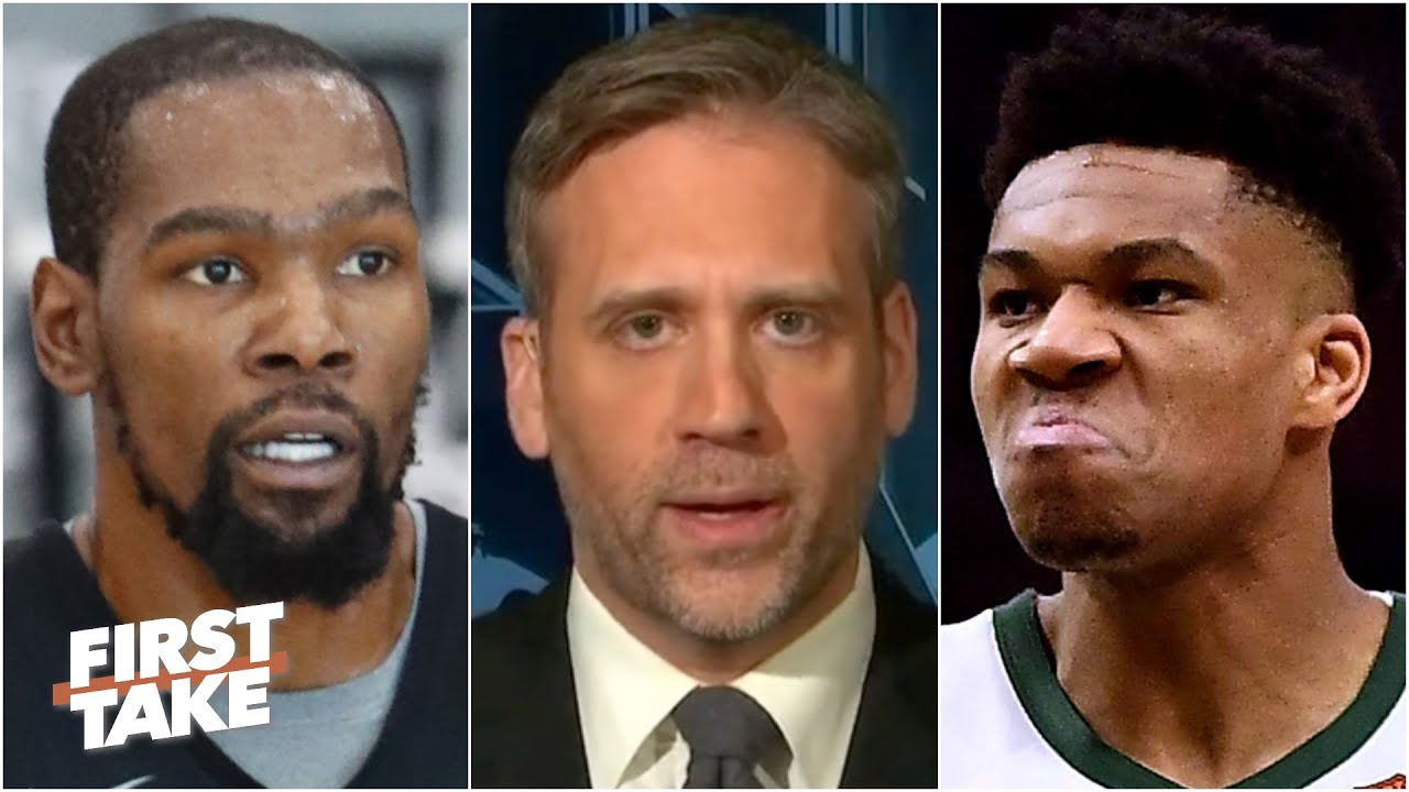 Kevin Durant or Giannis: Which player will be the best in the Eastern Conference? | First Take