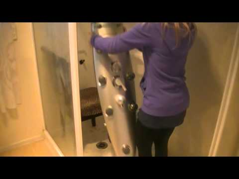 How to remove and replace a shower panel