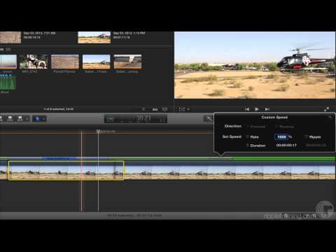 Retiming with Blade Speed in Final Cut Pro 10.1