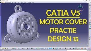 CATIA V5 Practice Design 14 for beginners | CATIA Practice