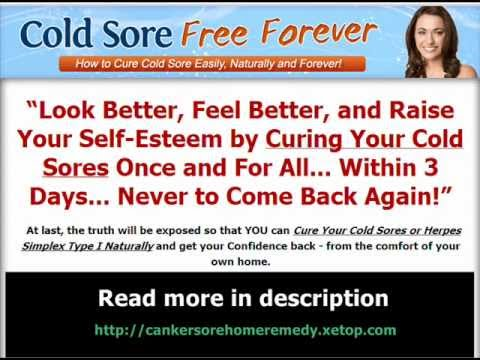 Canker Sore Home Remedy - Cold Sore Home Remedy
