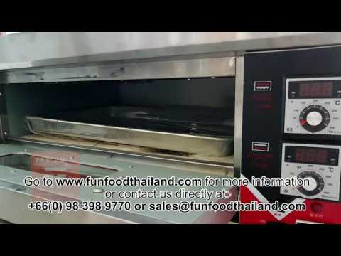 Gas Oven 1 Desk 2 Trays (Fun Food Thailand)