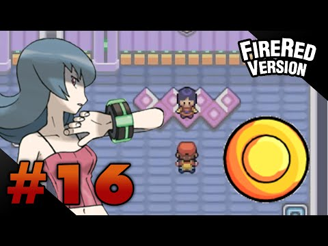 Let's Play Pokemon: FireRed - Part 16 - Saffron Gym Leader Sabrina