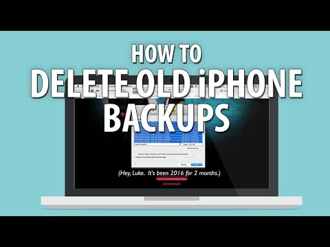 How to Delete Old iPhone Backups to Save Hard Drive Space