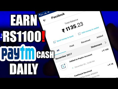 EARN Free Rs1100   paytm Cash daily With Android