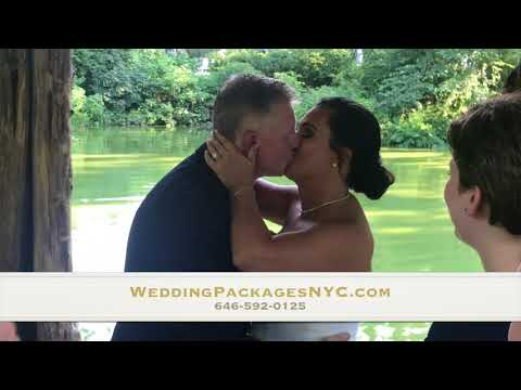Wagner Cove Carriage Ride Wedding in Central Park by Wedding Packages NYC