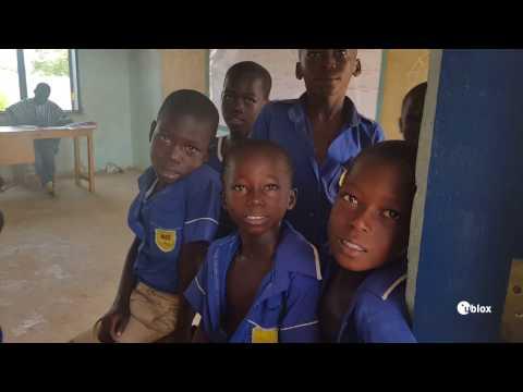 Visiting u-blox-sponsored school in Northern Ghana