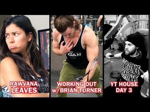 99¢ Haul - Fitness w/Brian Turner - Rawvana Leaves & Cooking w/ Black Metal Chef YT House Day 3