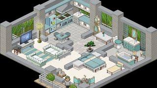 Habbo Beginners Building Tutorial [Apartment] : Cottage Kitchen ...