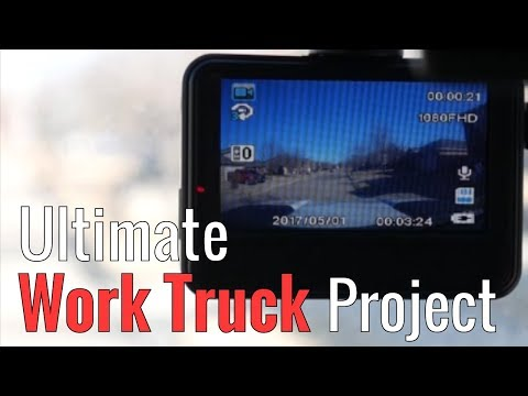 Ultimate Work Truck Project Part 3 - Dash Cam
