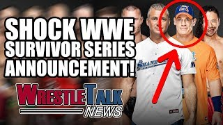John Cena WWE RETURN Announced For Survivor Series 2017! | WrestleTalk News Nov. 2017